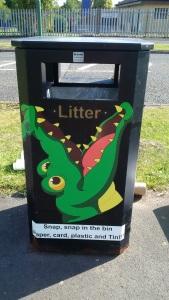 Winning litter bin design