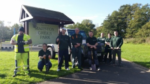 Marston Green Park Action Day with Jaguar Land Rover